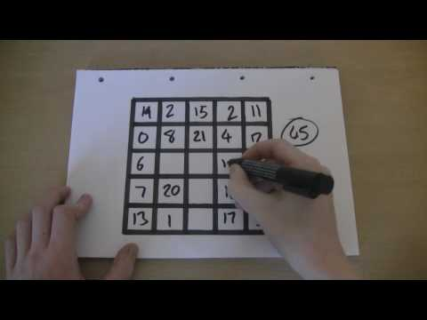 Response: Magic Square Tutorial