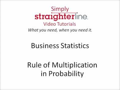 What is the Rule of Multiplication in Probability - Business Statistics Tips
