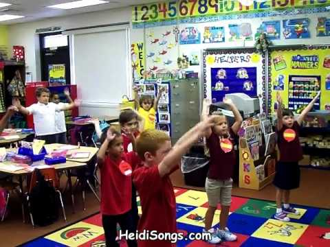 When the Bell Rings, Freeze! Song - Music for Classroom Management