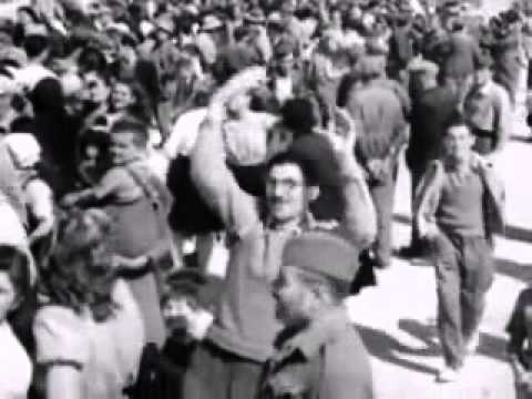 War Pictorial News, 1945: Refugees Return Home