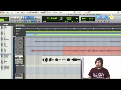 Writing Automation a Track - Pro Tools 9