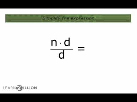 Simplify multiplication and division expressions by combining like terms - 6.EE.2