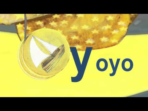 "Yacht & Yoyo - Lower Case Alphabet ""Y"""