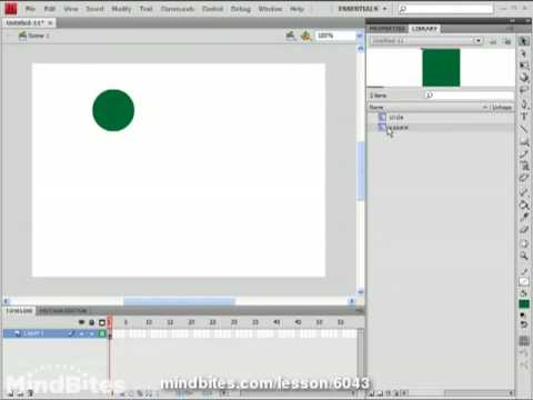 New Features - Flash CS4 6: Copying Motion