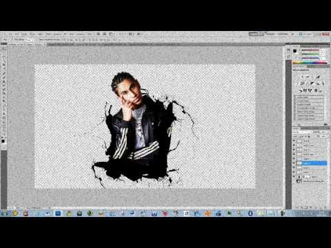 Photoshop CS5 - 'Kick Ass' Movie Inspired Paint Splatter Effect - Tutorial
