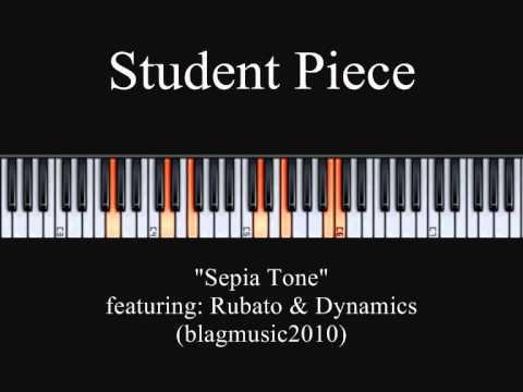 Sepia Tone - Solo Piano Piece