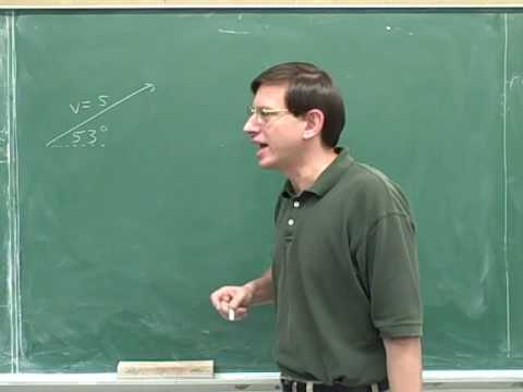 Physics: Vector components (35)