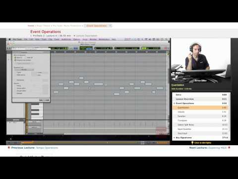 Pro Tools: Event Operations