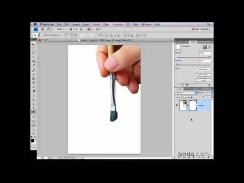 Photoshop: Converting a background layer for masking | lynda.com