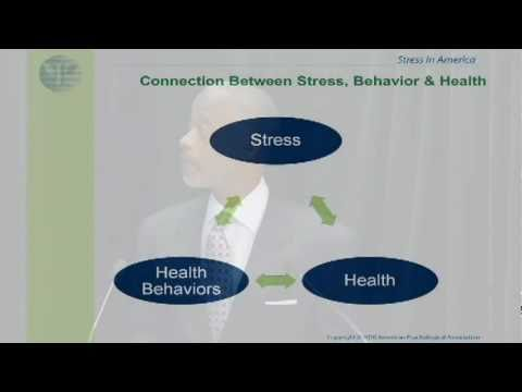 Stress in America 2010 - Dr. Norman B. Anderson