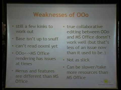 Open Office Training