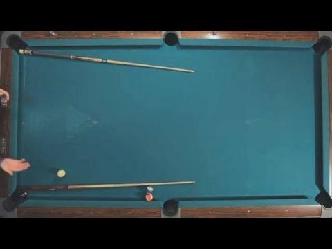 Pool Trick Shots / Beginner Shots: Gate in the Wall