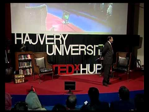 TEDxHUP - Lt. Gen ® Khalid Maqbool -- Pakistan at Peace @ HAJVERY UNIVERSITY