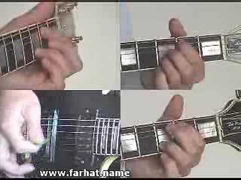 You Shook Me All Night Long  - AC/DC  part 4 guitar lesson www.Farhatguitar.com