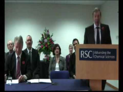 RSC and ACS sign memorandum of understanding (part 1 of 2)