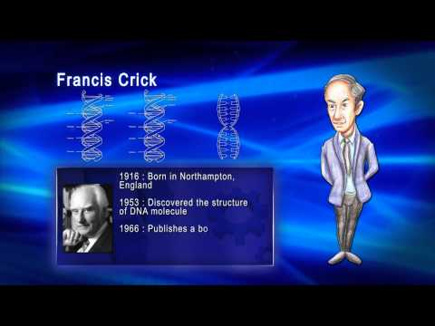Top 100 Greatest Scientist in History For Kids(Preschool) - FRANCIS CRICK