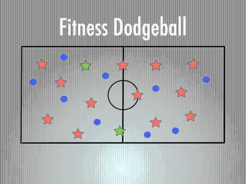 Physical Education Games - Fitness Dodgeball