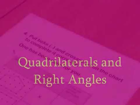 Quadrilaterals and Right Angles