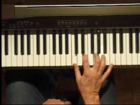 Piano Lesson - Four Note Chords in C