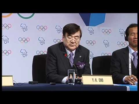 PyeongChang 2018 - Signing of the Host City Contract and joint IOC/PyeongChang Press Conference