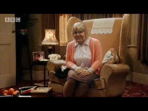When Des was around... Old Lady Sketch -  Marc Wooton Exposed - BBC comedy