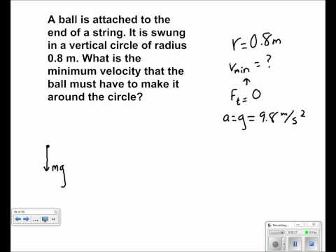 Uniform Circular Motion Presentation #41