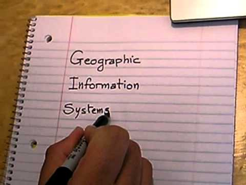 Writing Geographic Information Systems in Arabic