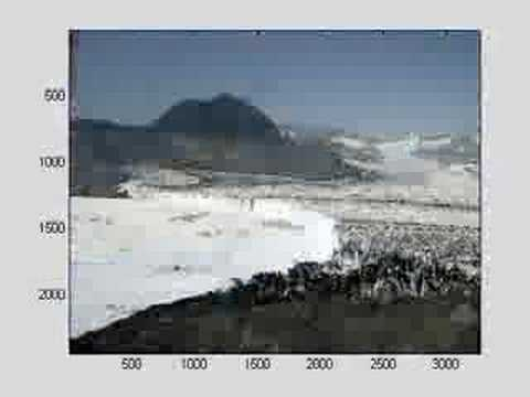 Timelapse of Columbia Glacier in Alaska