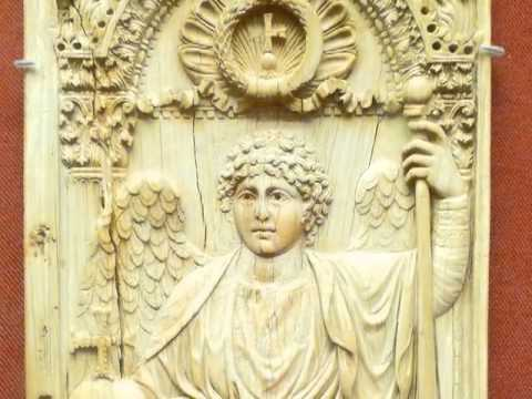 Saylor ARTH401: Ivory Panel with Archangel
