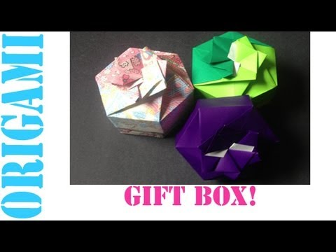 Origami Daily - 322: 2 Piece Hexagon Box Lid Ver. 2 - TCGames [HD]