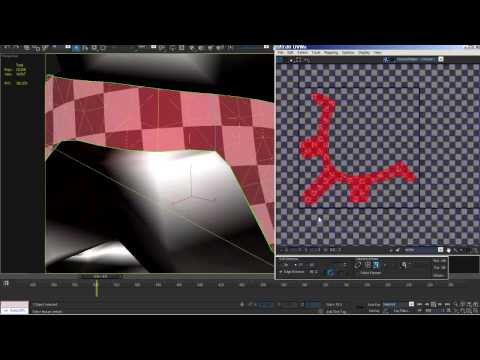 Pelt Mapping Part 2 - 3D Studio MAX