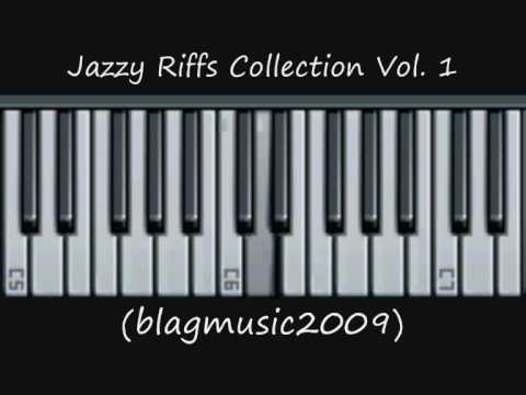 Piano Lesson - 10 Jazzy Riffs Collection 1 of 3 (On a Hip Hop Feel)