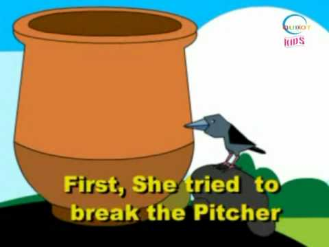 The Crow and the Picture - Animated Stories - English
