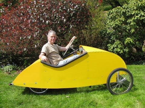 Pedal car for Burningman