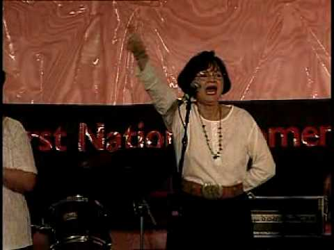 "Tzo'kam perform ""The Bone Game Song"" at the 1998 Folklife Festival"