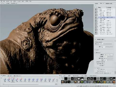 What is Autodesk Mudbox digital sculpting software?