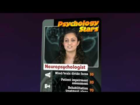 Psychology careers - Neuropsychology Stars