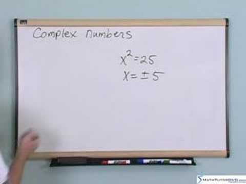 Trigonometry & Precalculus Tutor - Sample1 - Complex Numbers