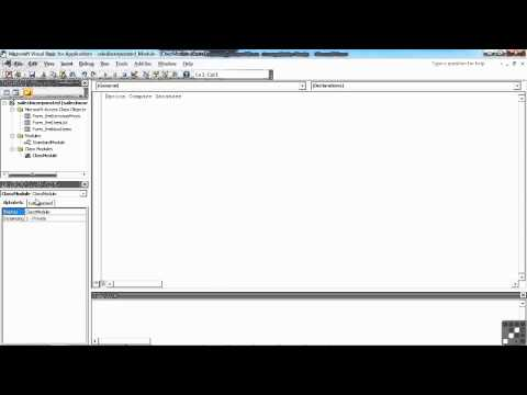 VBA for Access Tutorial | Quick Interface Tour | InfiniteSkills