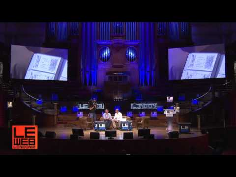 Welcome back & Check in with Hugh MacLeod - LeWeb London 2012 - Plenary 1