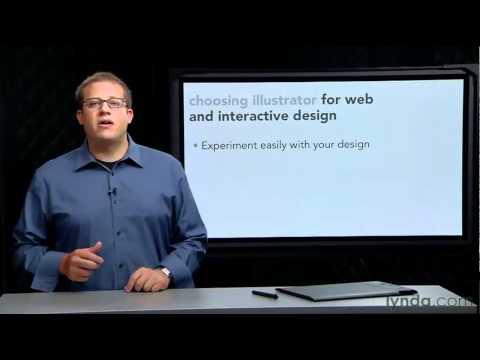 Using Illustrator for web and interactive design | lynda.com