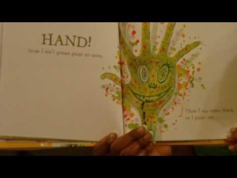 preschool activities - I Ain't Gonna Paint No More - Littlestorybug