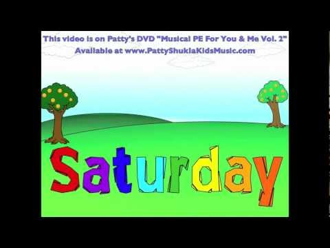 Saturday's My Favorite Day! (Kids song by Patty Shukla) DVD Version