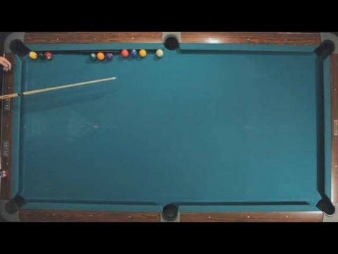 Pool Trick Shots / Advanced Shots: 9-Ball Speed Shot