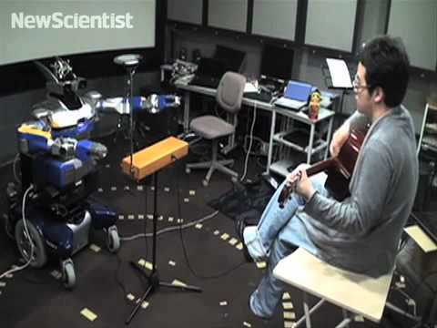 Robo-theremin player jams with humans