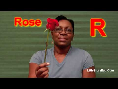 Preschool Activity - R is for Rose - Littlestorybug