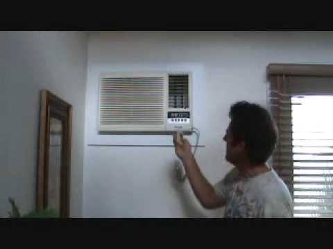 Saving money running a wall mounted AC unit?