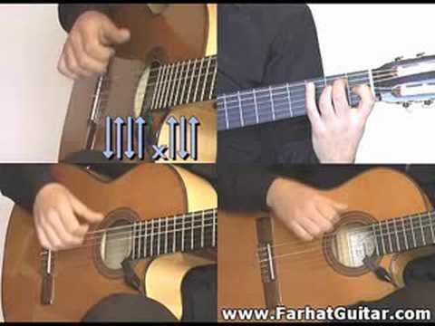 Rumba Rhythm N-6  Gipsy Kings style www.FarhatGuitar.com