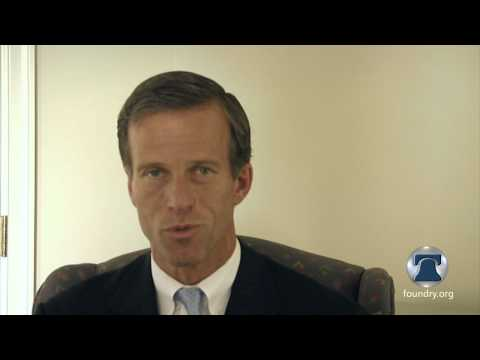 Senator John Thune Discusses Federal Spending, Elena Kagan, and the new START treaty