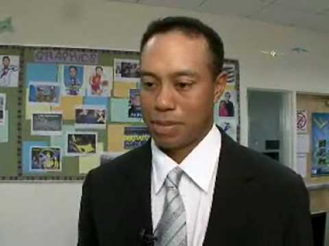 Tiger Woods Interview - Part One
